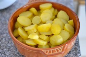 Kartoffelauflauf.